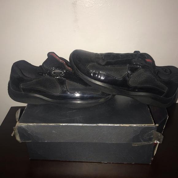 separation shoes 09408 41437 Prada Calzature Uomo Vernice+Bike Dress Shoes